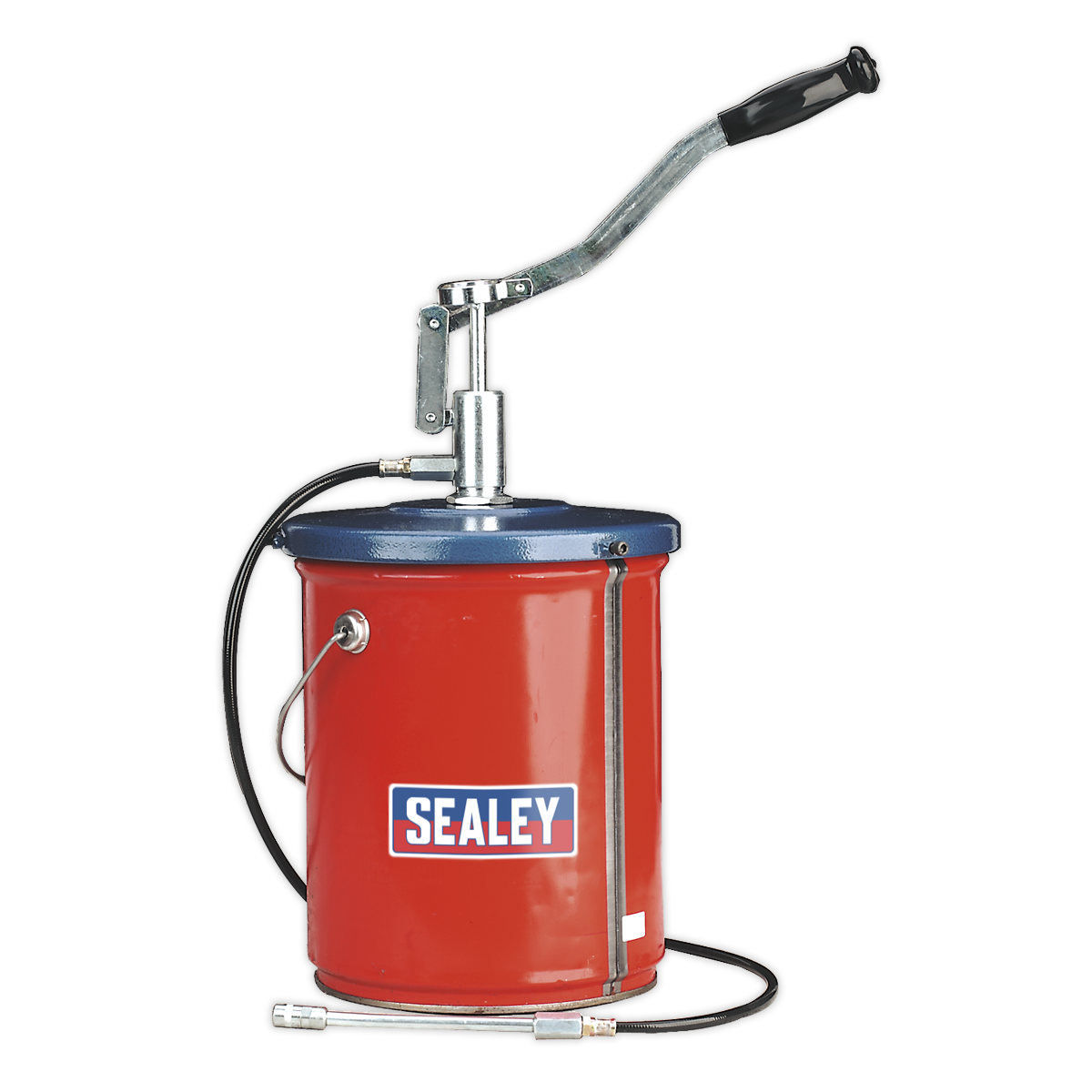Bucket Greaser with Follower Plate 12.5kg Extra-Heavy-Duty