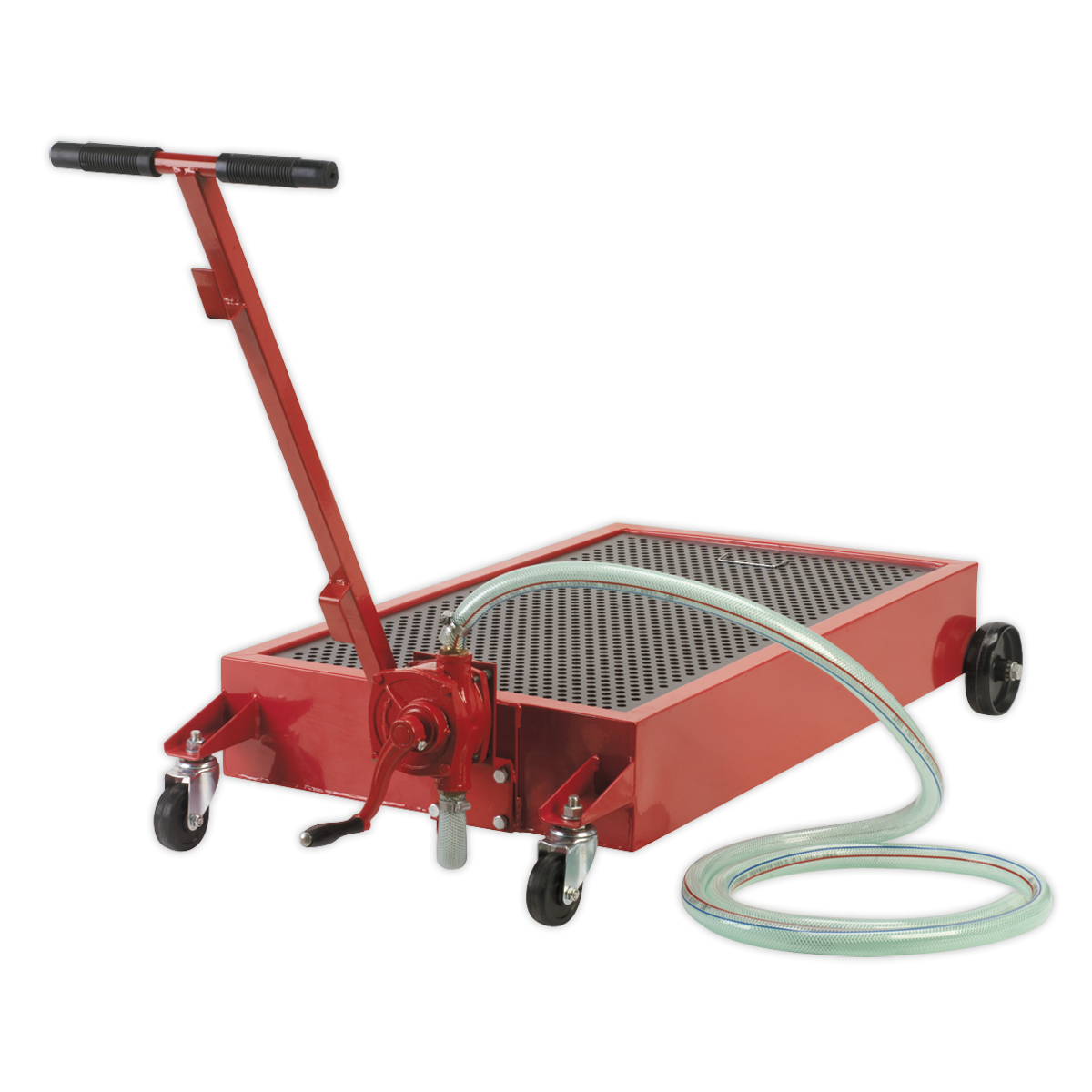 Low Level Oil Drainer 64L with Pump