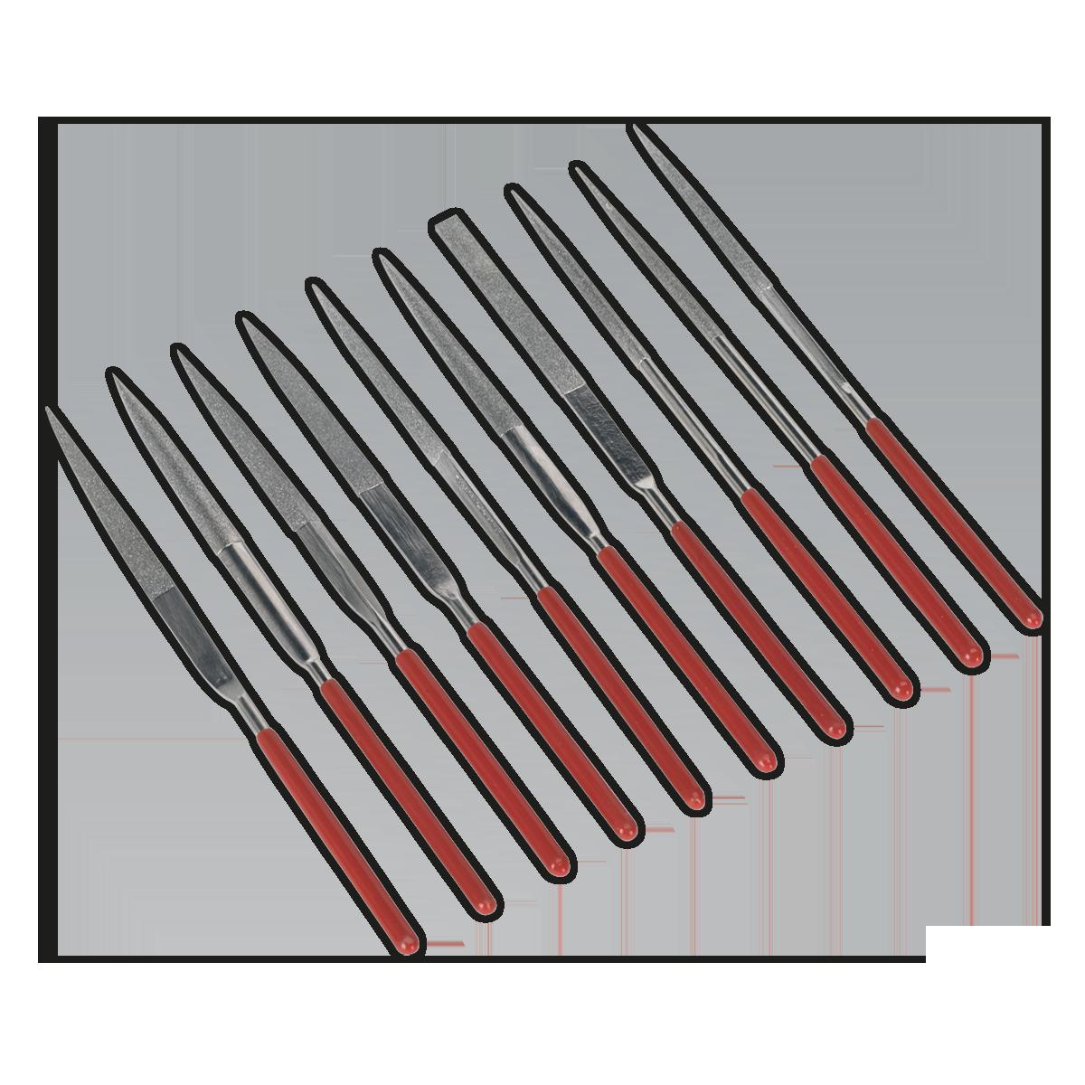 Diamond Needle File Set 10pc