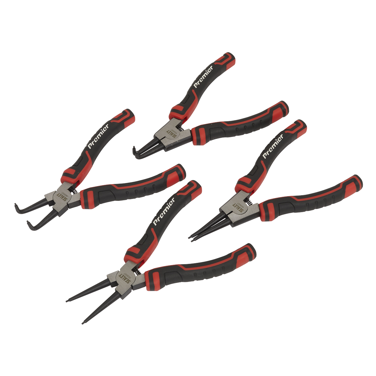 Circlip Pliers Set 180mm 4pc