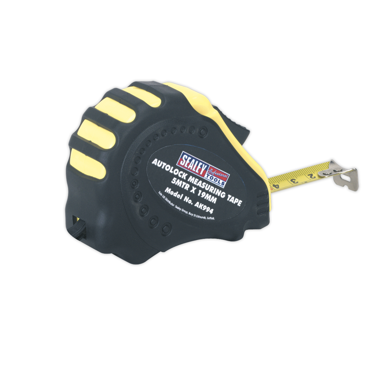 Autolock Tape Measure 5m(16ft) x 19mm - Metric/Imperial