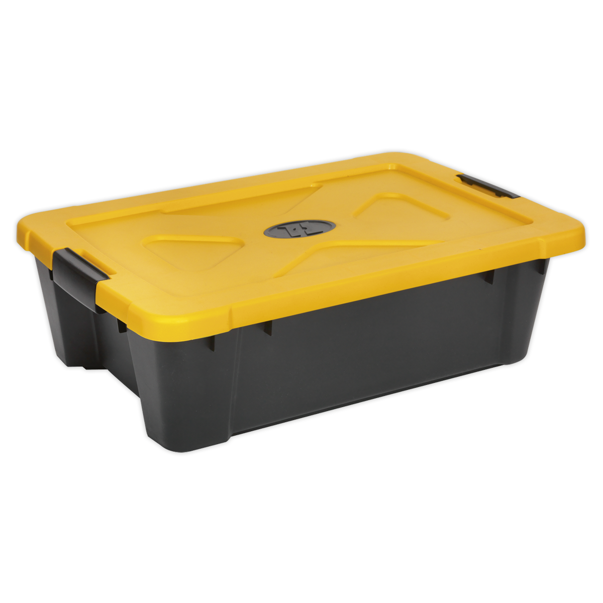 Composite Stackable Storage Box with Lid 27L