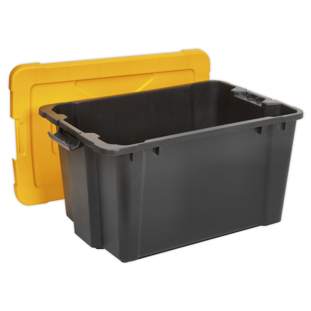 Composite Stackable Storage Box with Lid 54L