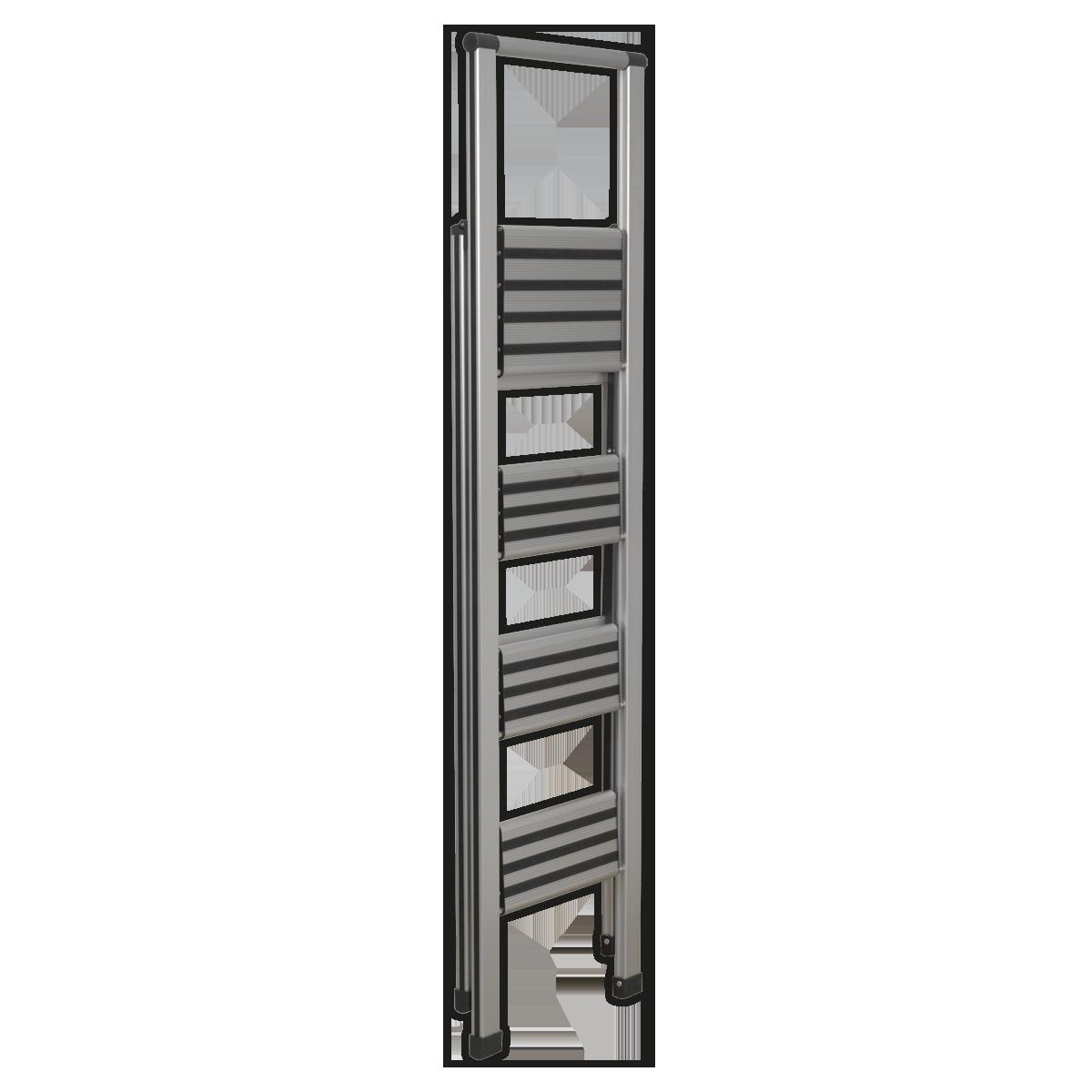 Aluminium Professional Folding Step Ladder 4-Step 150kg Capacity
