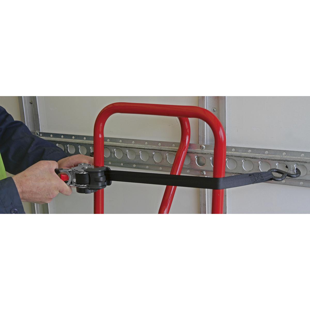 Auto Retractable Ratchet Tie Down 25mm x 3m