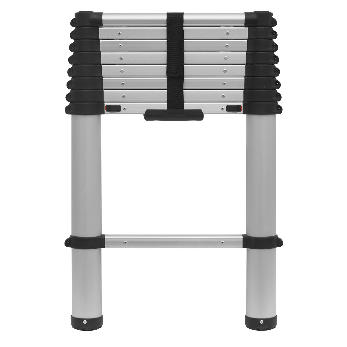 Aluminium Telescopic Ladder 9-Tread EN 131