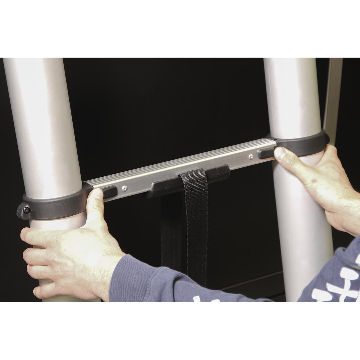 Aluminium Telescopic Ladder 11-Tread EN 131