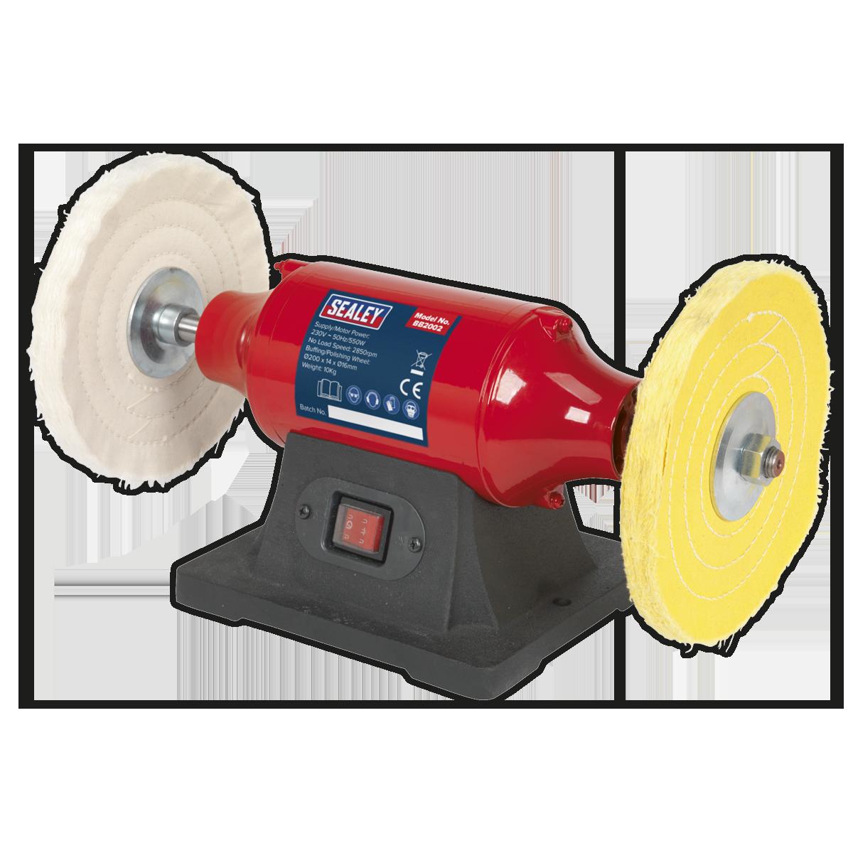 Bench Mounting Buffer/Polisher 200mm 550W/230V