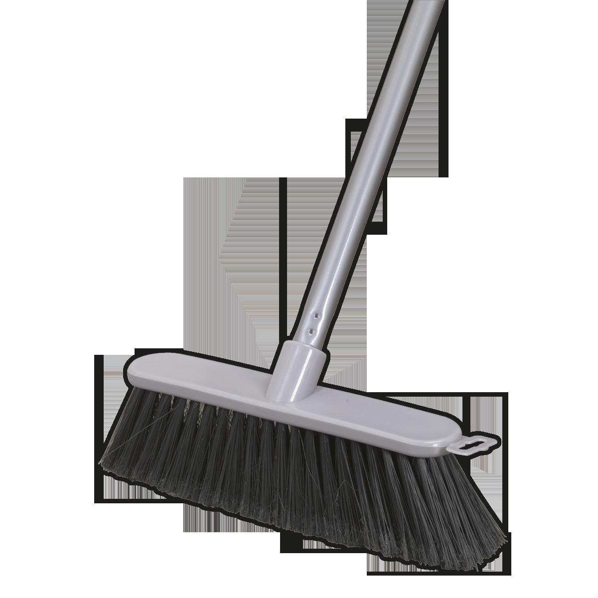 "Broom 11""(280mm) Soft Bristle Indoor Use"