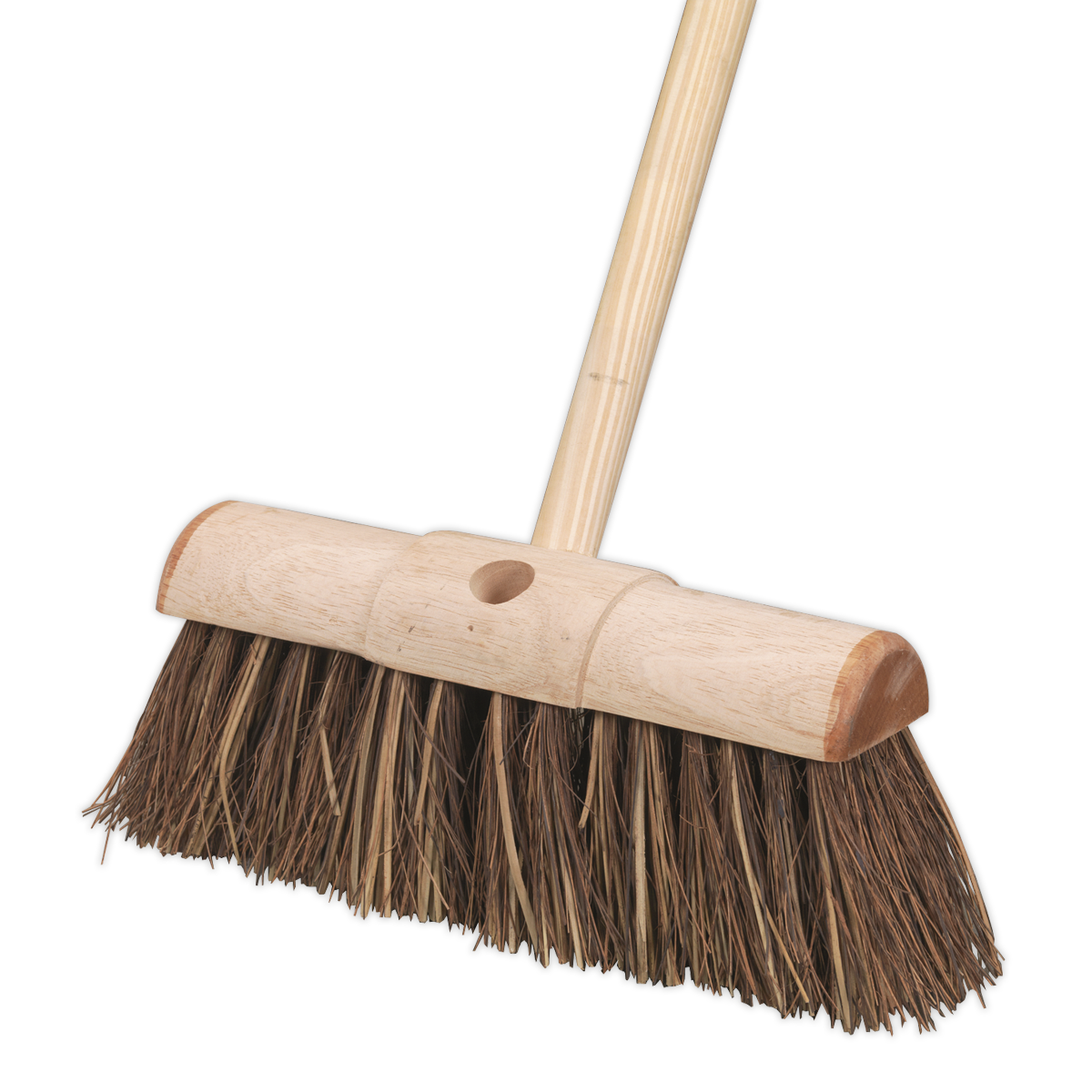 "Broom 13""(325mm) Stiff/Hard Bristle"