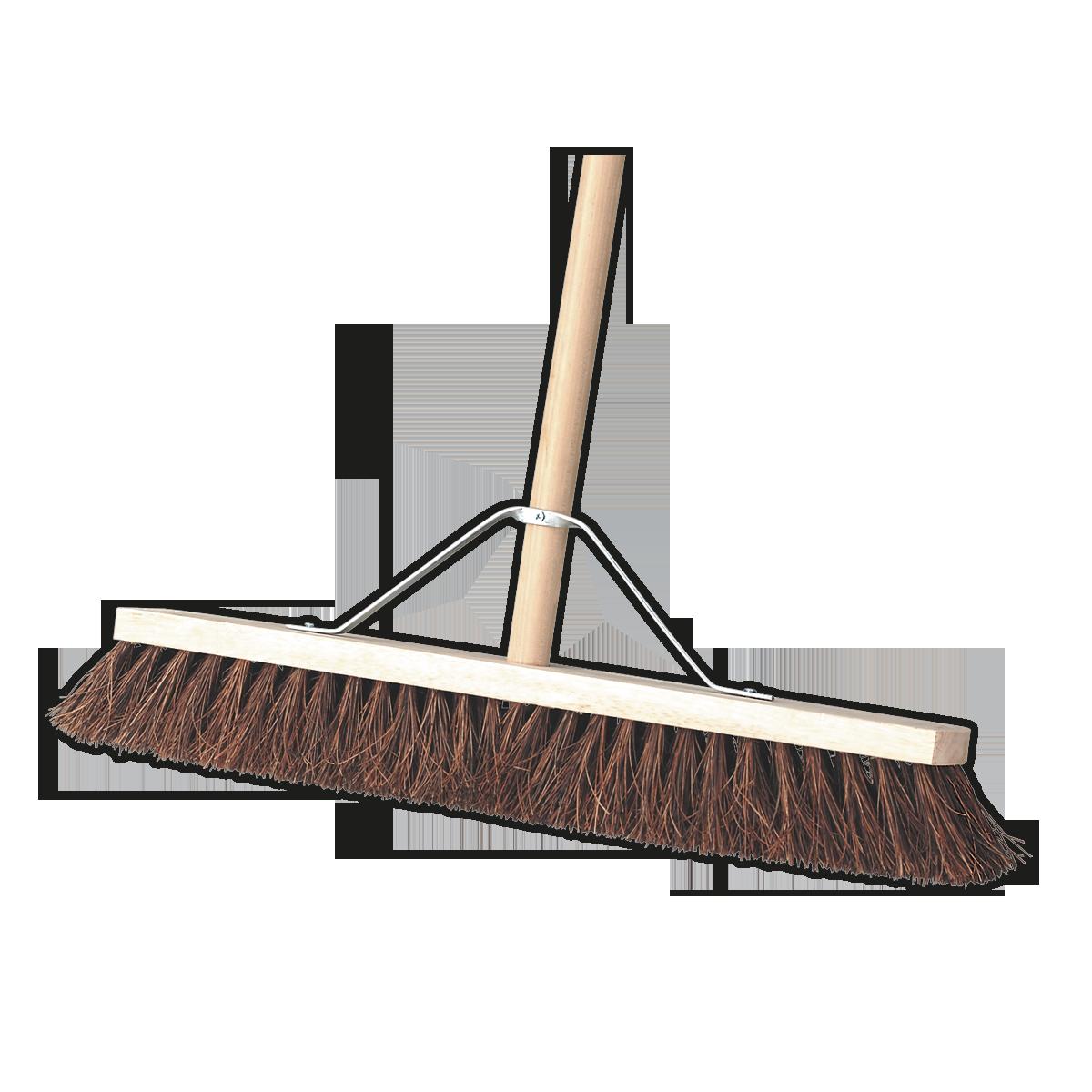 "Broom 24""(600mm) Stiff/Hard Bristle"