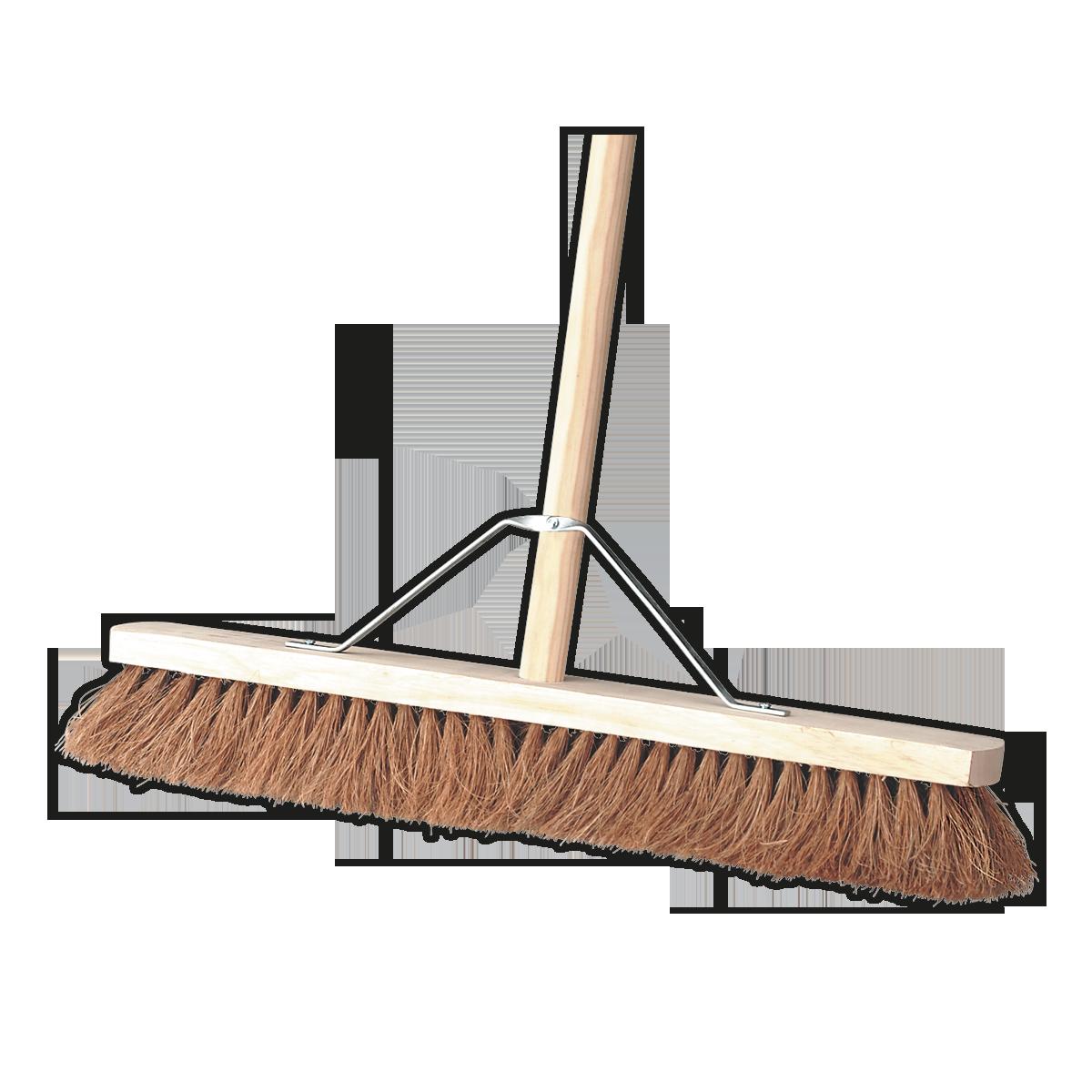 "Broom 24""(600mm) Soft Bristle"