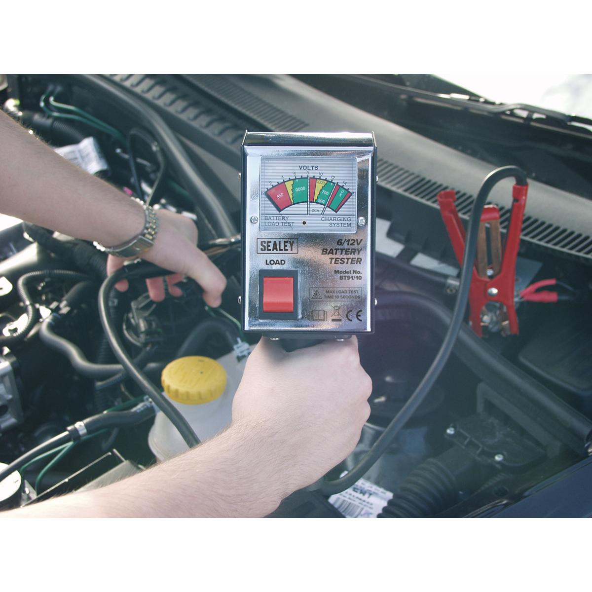 Battery Tester 6/12V Handheld