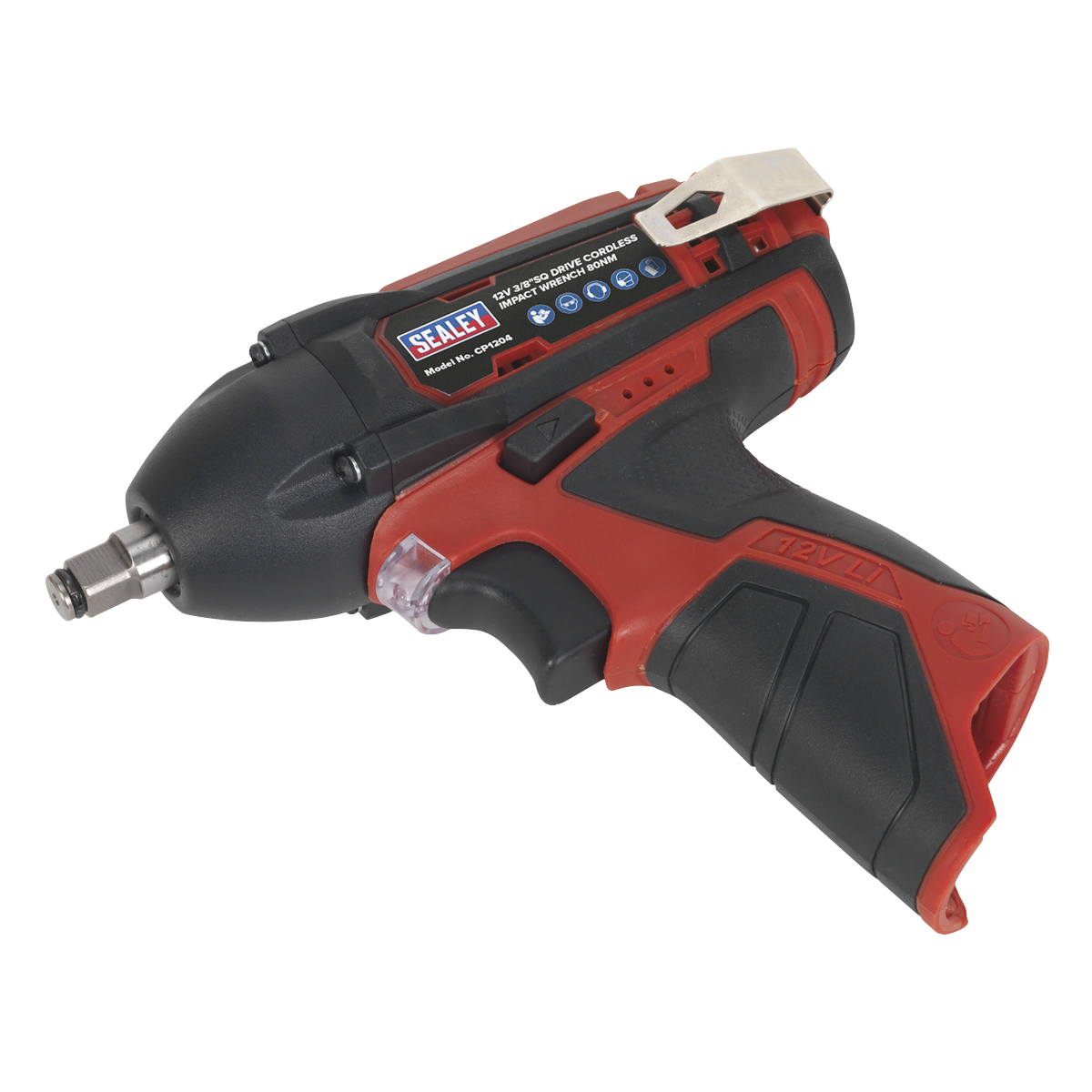 """Cordless Impact Wrench 3/8""""Sq Drive 80Nm 12V Lithium-ion - Body Only"""