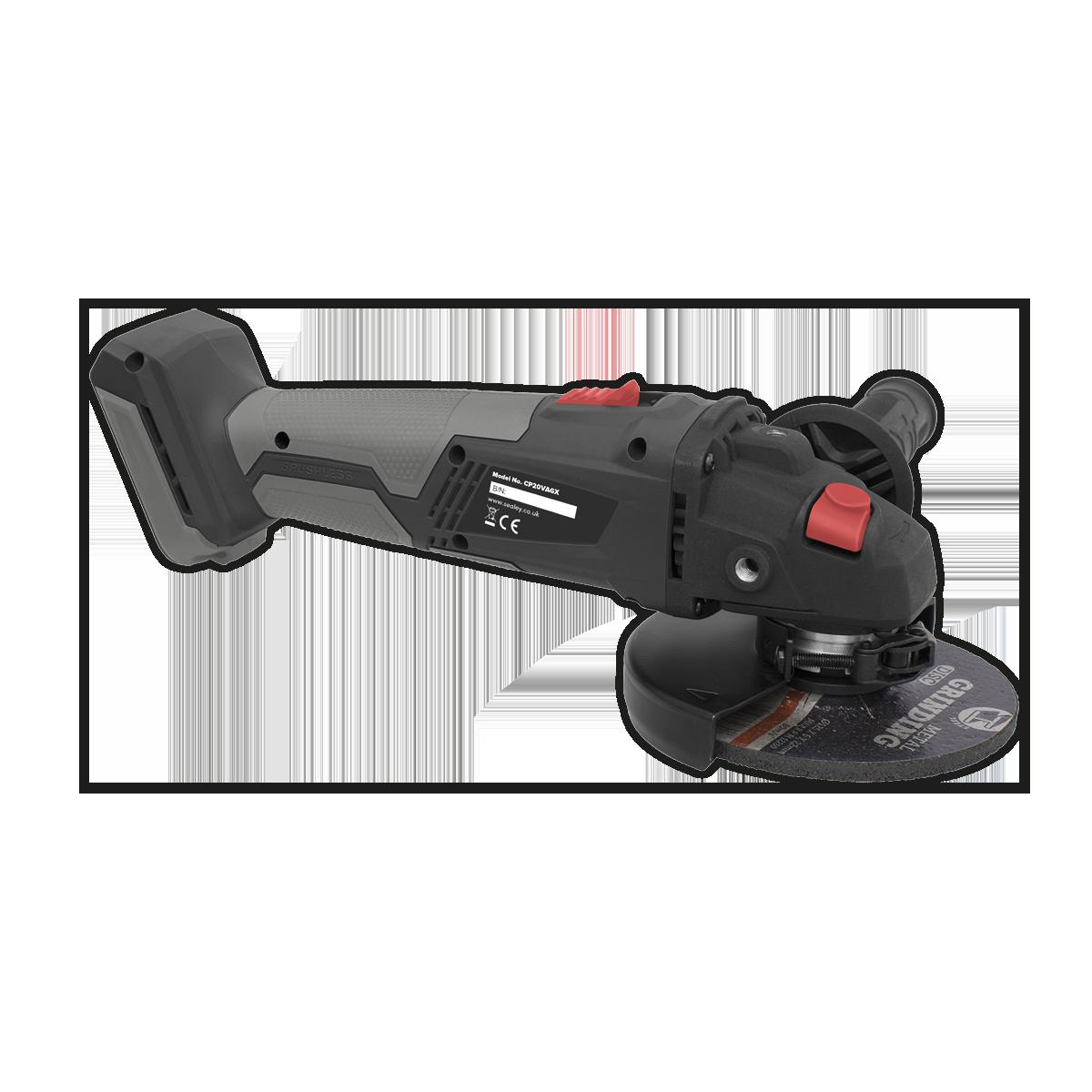 Brushless Angle Grinder Ø115mm 20V - Body Only