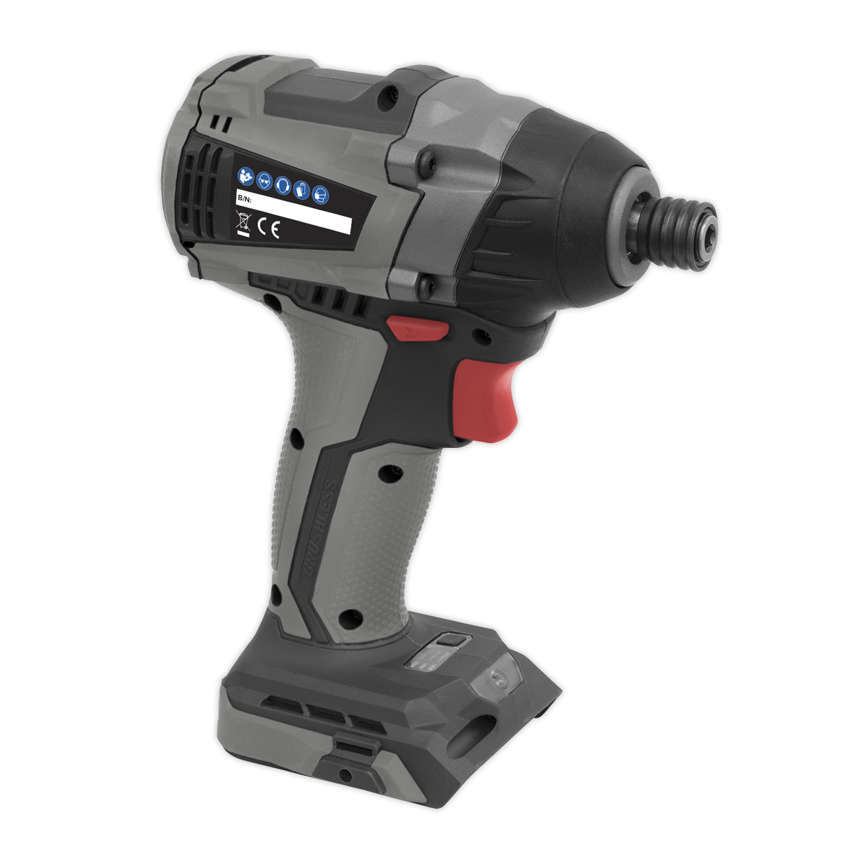 """Brushless Impact Driver 20V 1/4""""Hex 200Nm - Body Only"""