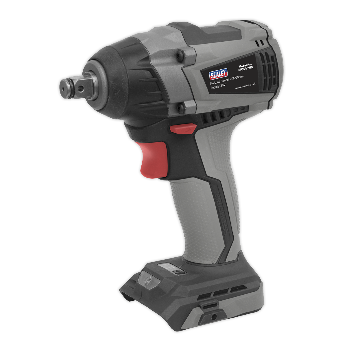 """Brushless Impact Wrench 20V 1/2""""Sq Drive 300Nm - Body Only"""