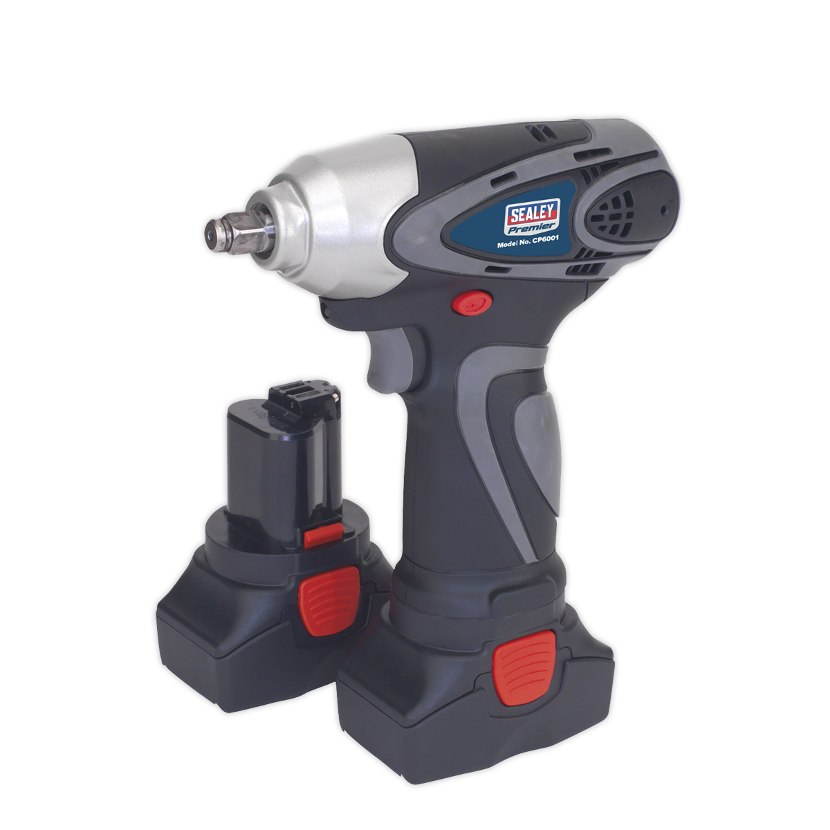 """Cordless Impact Wrench 3/8""""Sq Drive 140Nm 14.4V 2Ah Lithium-ion - 2 Batteries 40min Charger"""