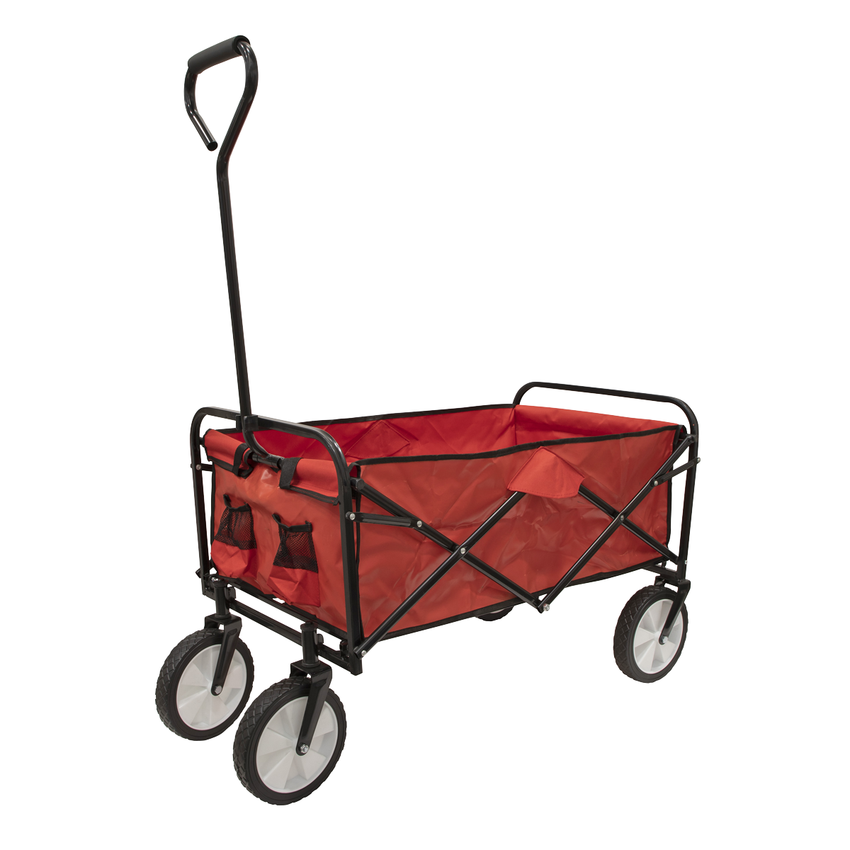 Canvas Trolley 70kg Capacity Foldable