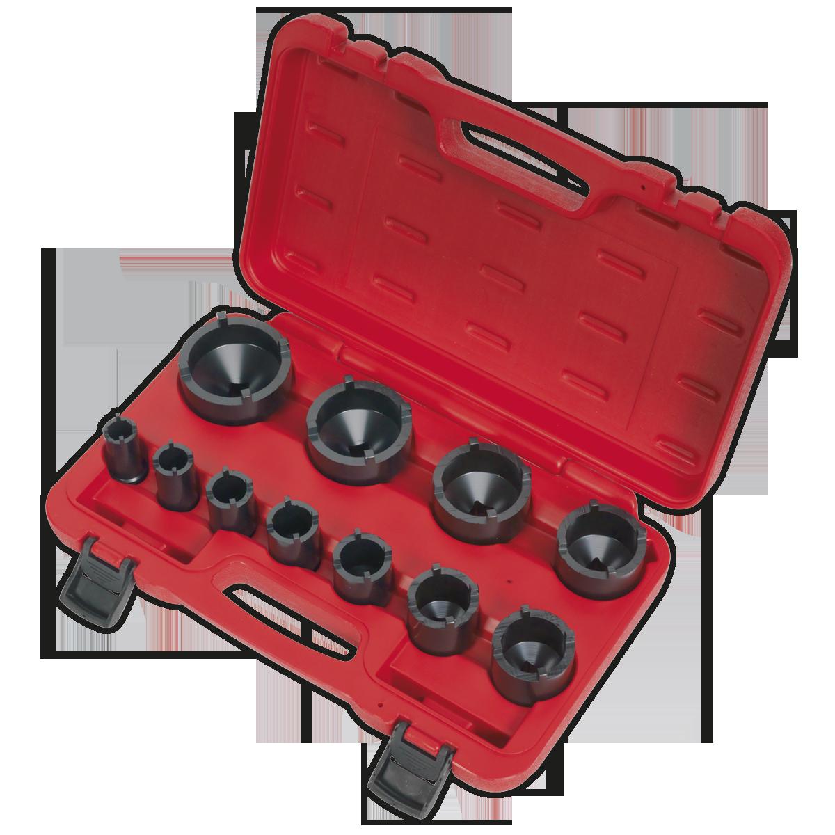 "Ball Joint Socket Set 11pc 1/2""Sq Drive"