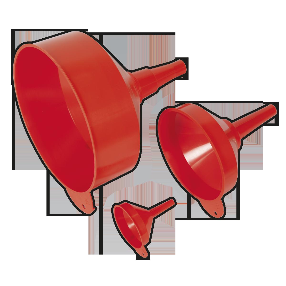 Funnel Set 3pc Fixed Spout