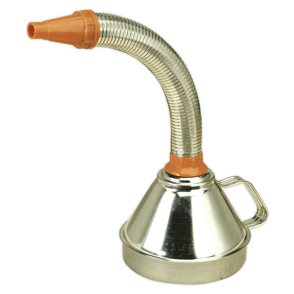 Funnel Metal with Flexible Spout & Filter Ø160mm