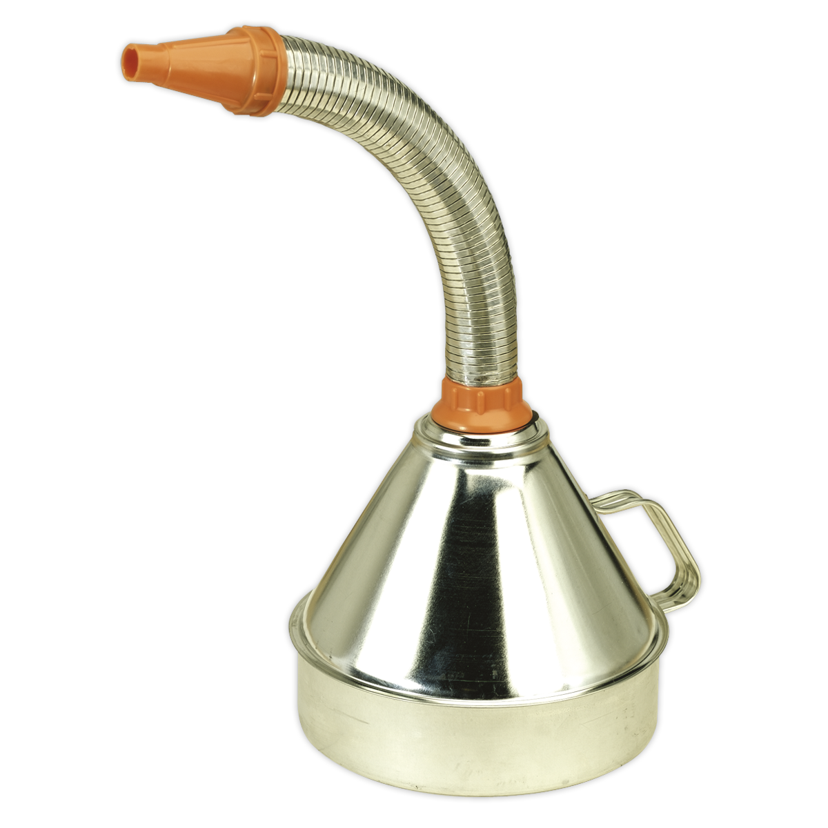 Funnel Metal with Flexible Spout & Filter Ø200mm