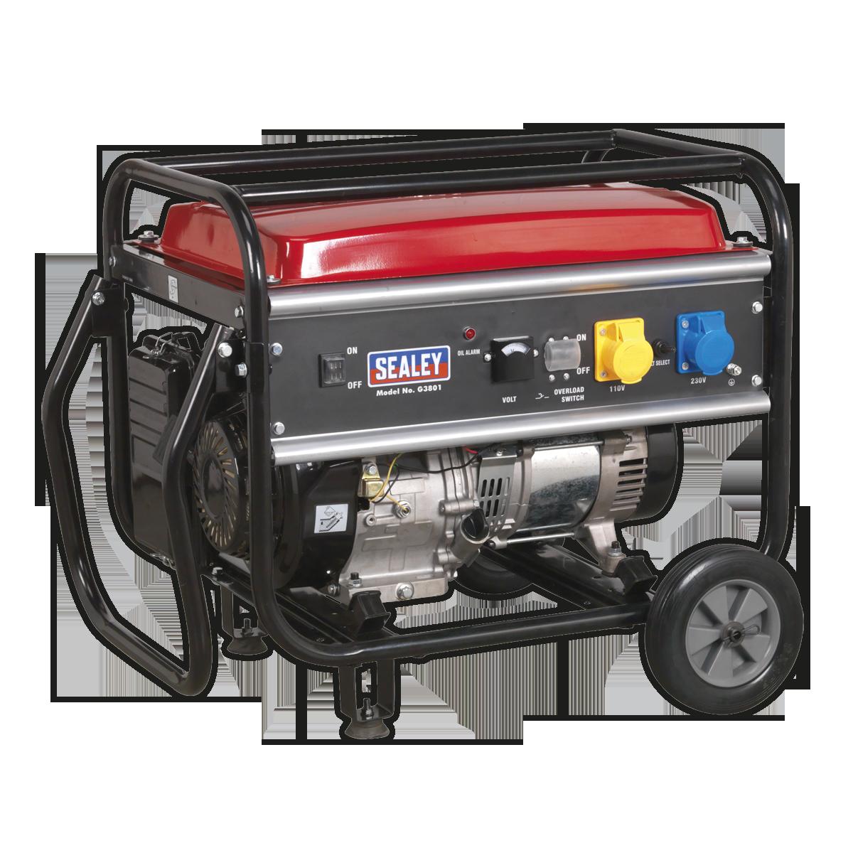 Generator 3800W 110/230V 9.2hp