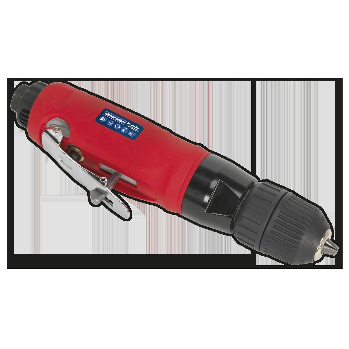 Air Drill Straight with Ø10mm Keyless Chuck