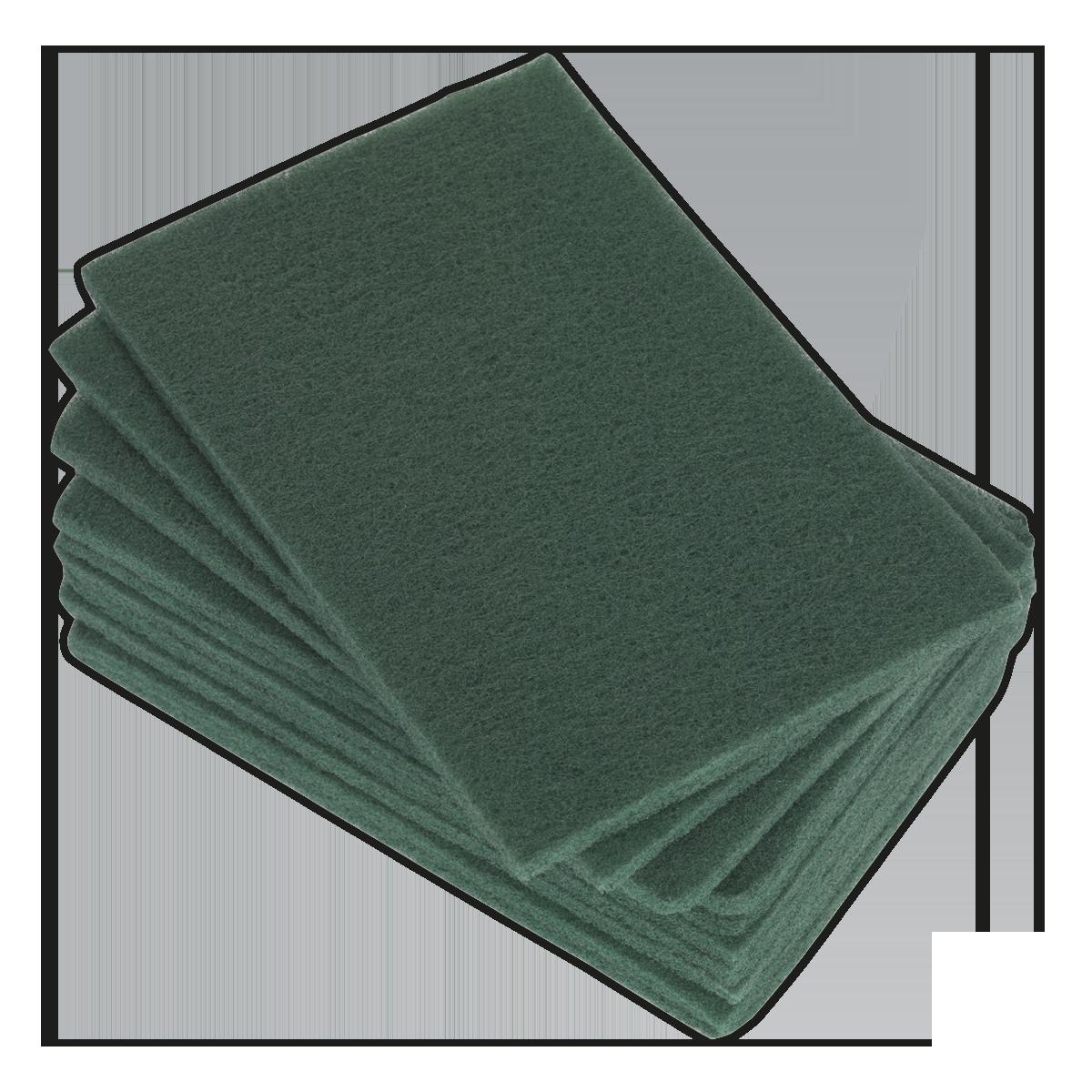Abrasive Finishing Pad 150 x 230mm Fine Pack of 10