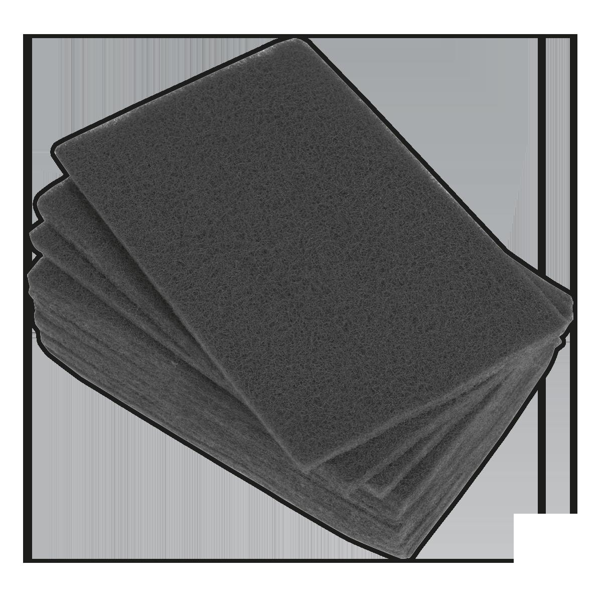 Abrasive Finishing Pad 150 x 230mm Ultra-Fine Pack of 10