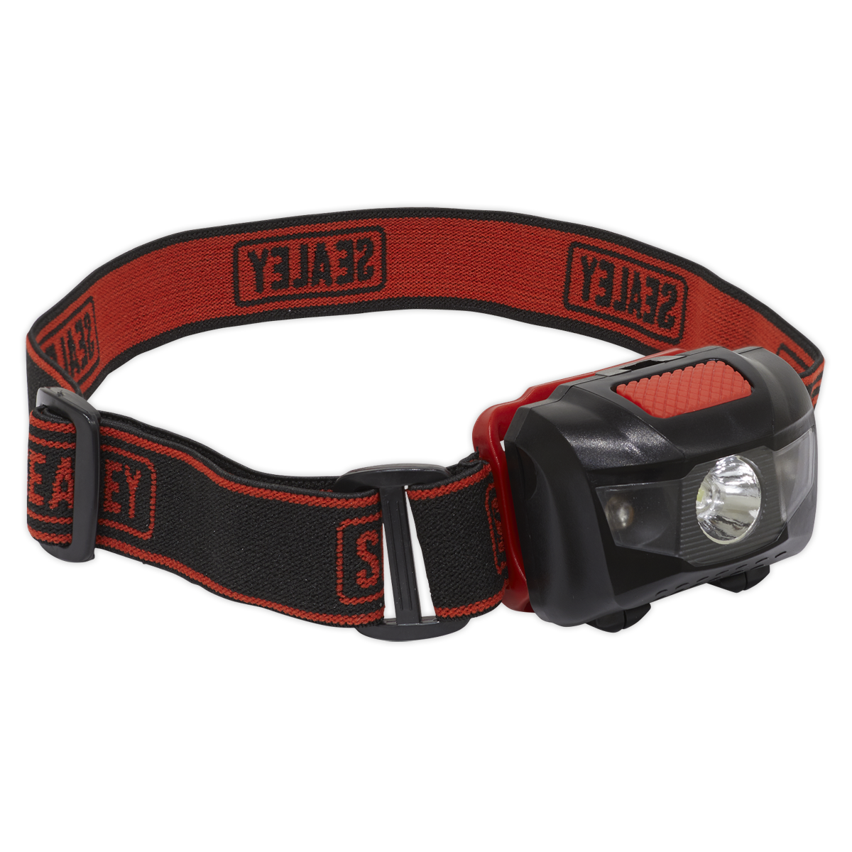 Head Torch 3W + 2 LED 3 x AAA Cell