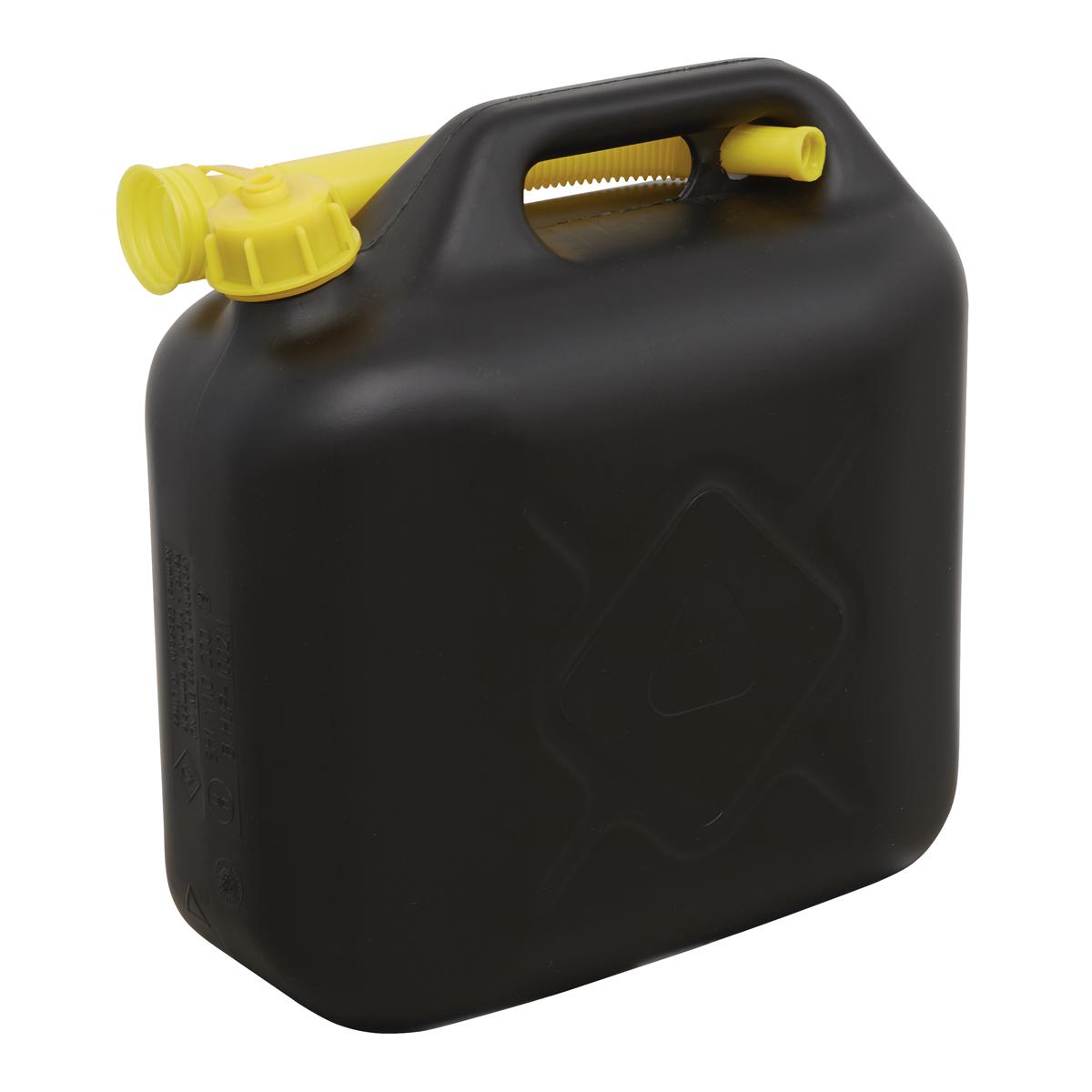 Fuel Can 10L - Black