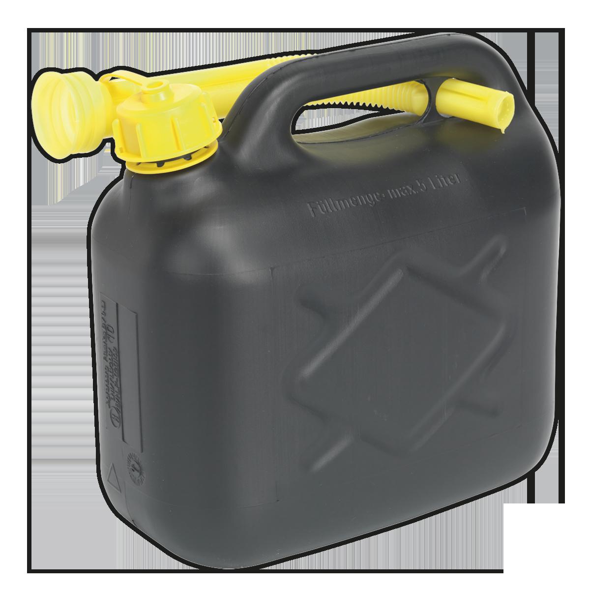 Fuel Can 5L - Black