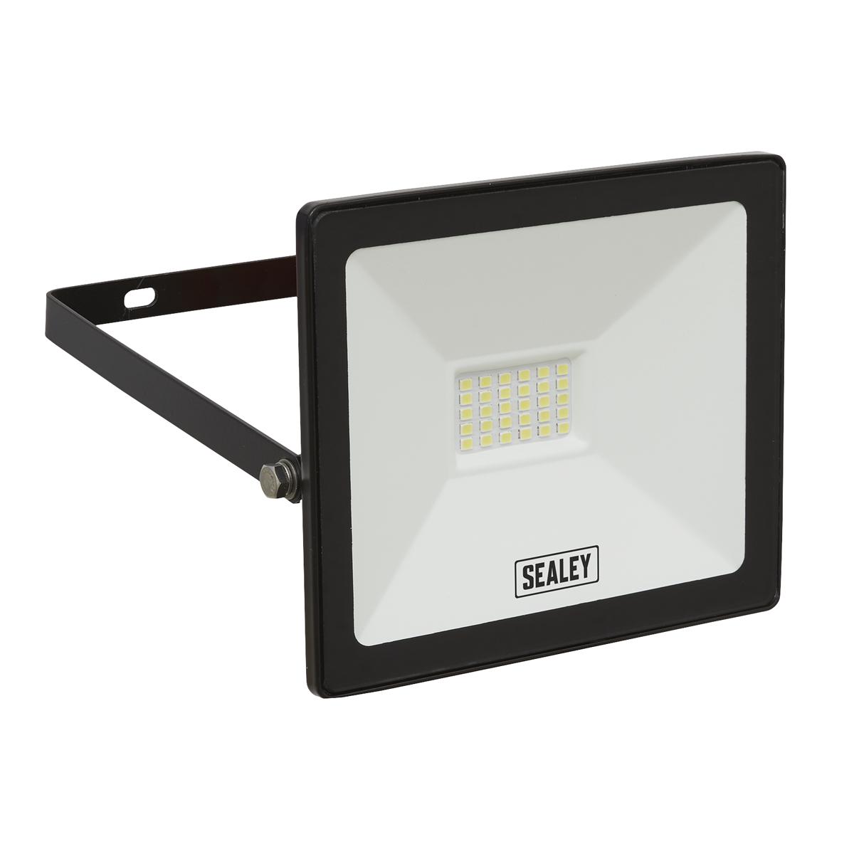 Extra Slim Floodlight with Wall Bracket 20W SMD LED