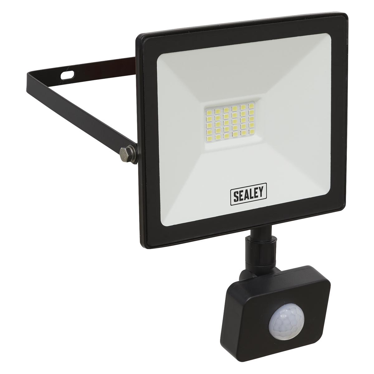 Extra Slim Floodlight with PIR Sensor 20W SMD LED