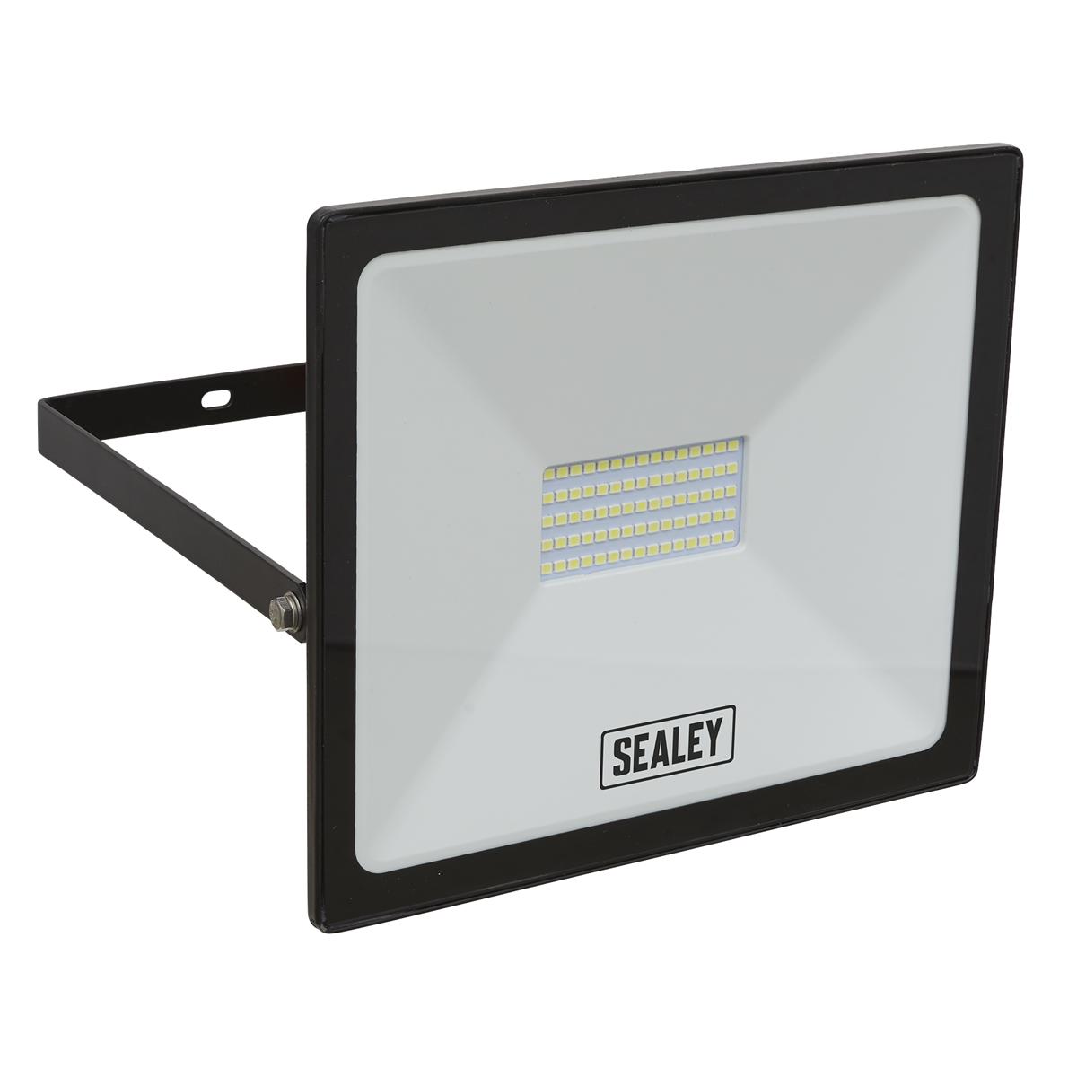 Extra Slim Floodlight with Wall Bracket 50W SMD LED 230V