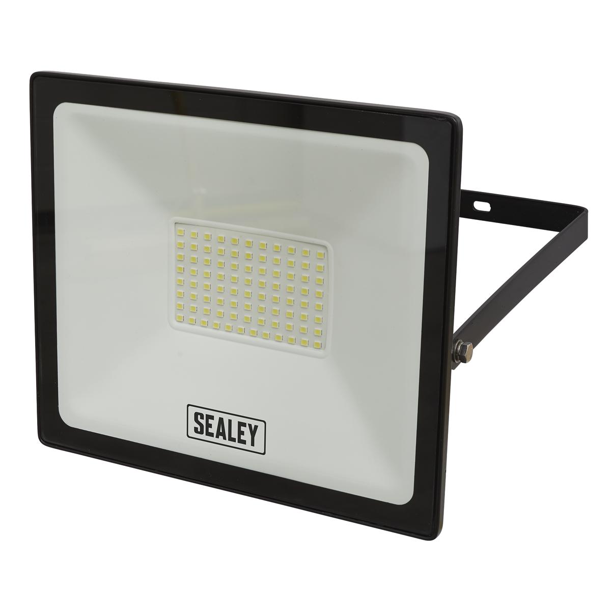 Extra Slim Floodlight with Wall Bracket 70W SMD LED
