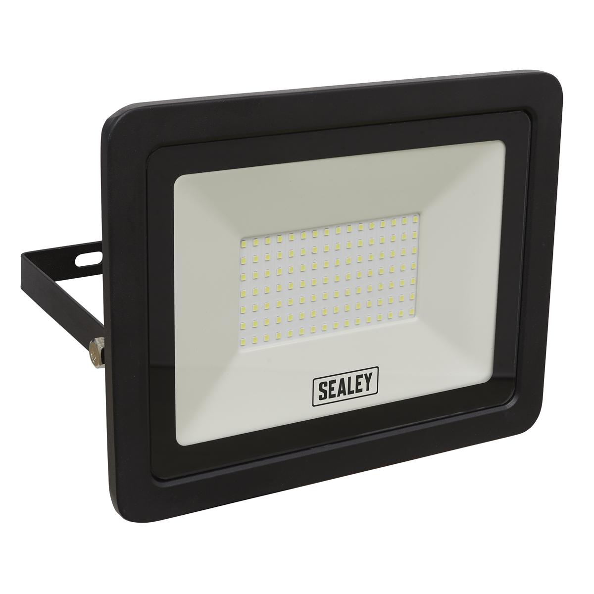 Extra Slim Floodlight with Wall Bracket 100W SMD LED