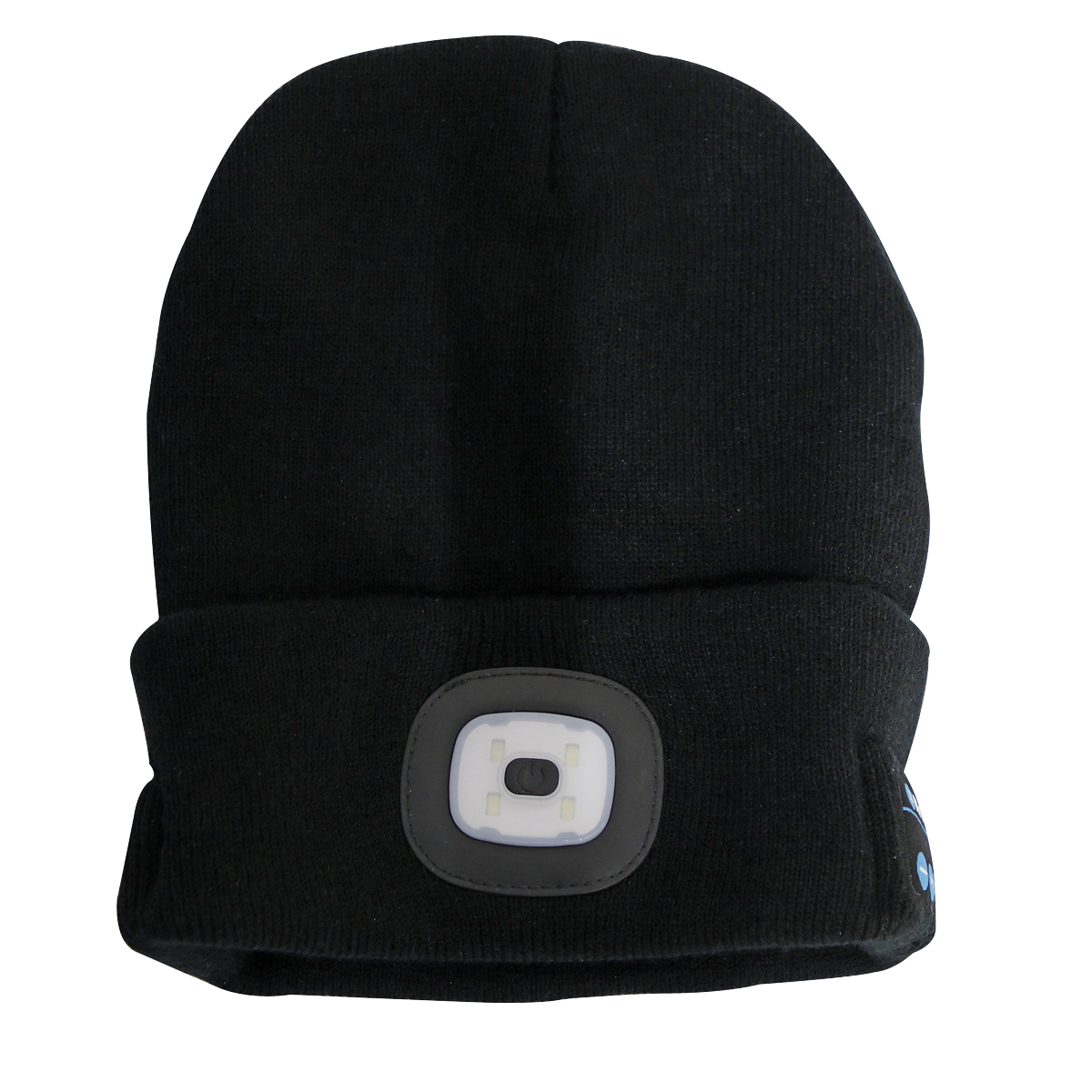 Beanie Hat 4 SMD LED USB Rechargeable with Wireless Headphones