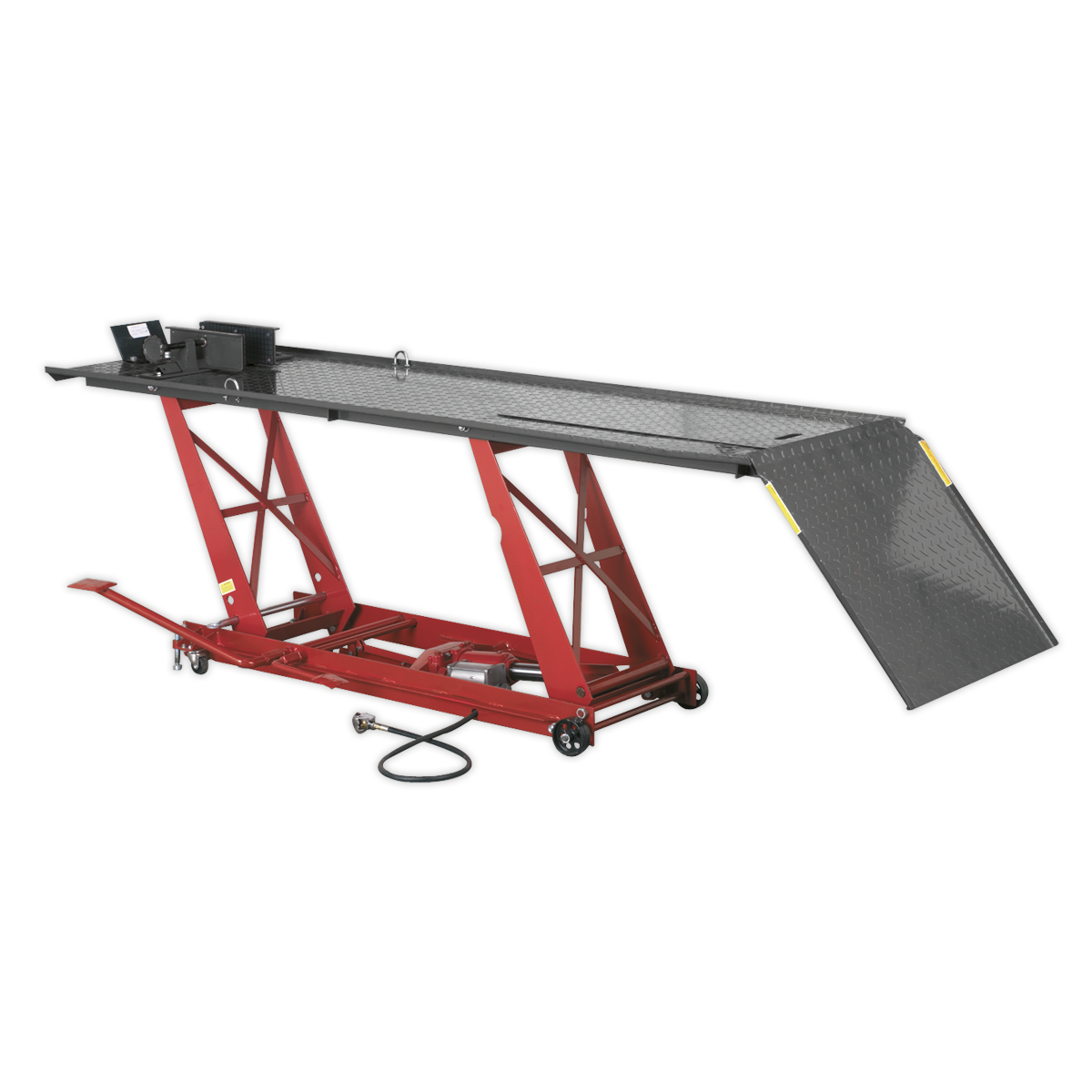 Motorcycle Lift 454kg Capacity Air/Hydraulic