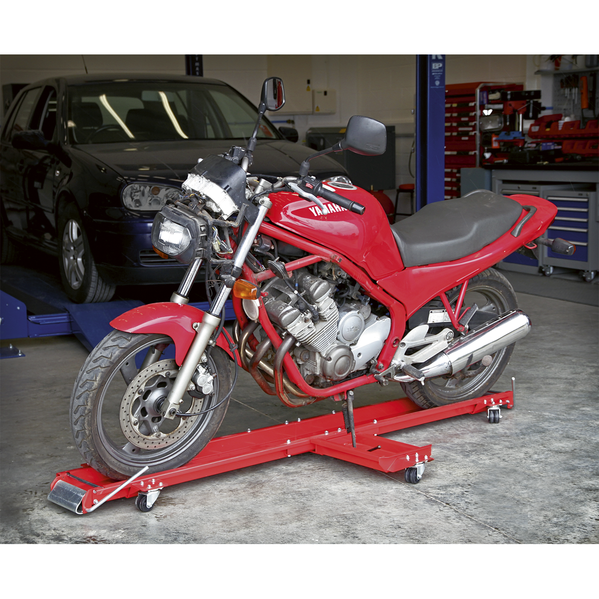 Motorcycle Dolly - Side Stand Type