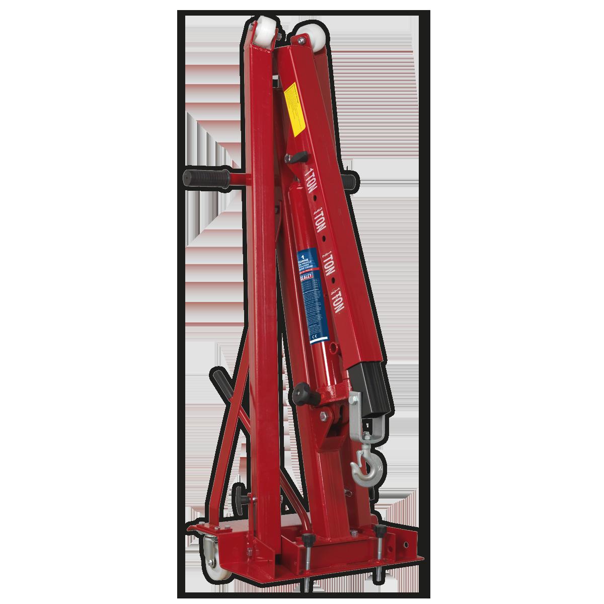 Folding Engine Crane 1tonne Low Profile