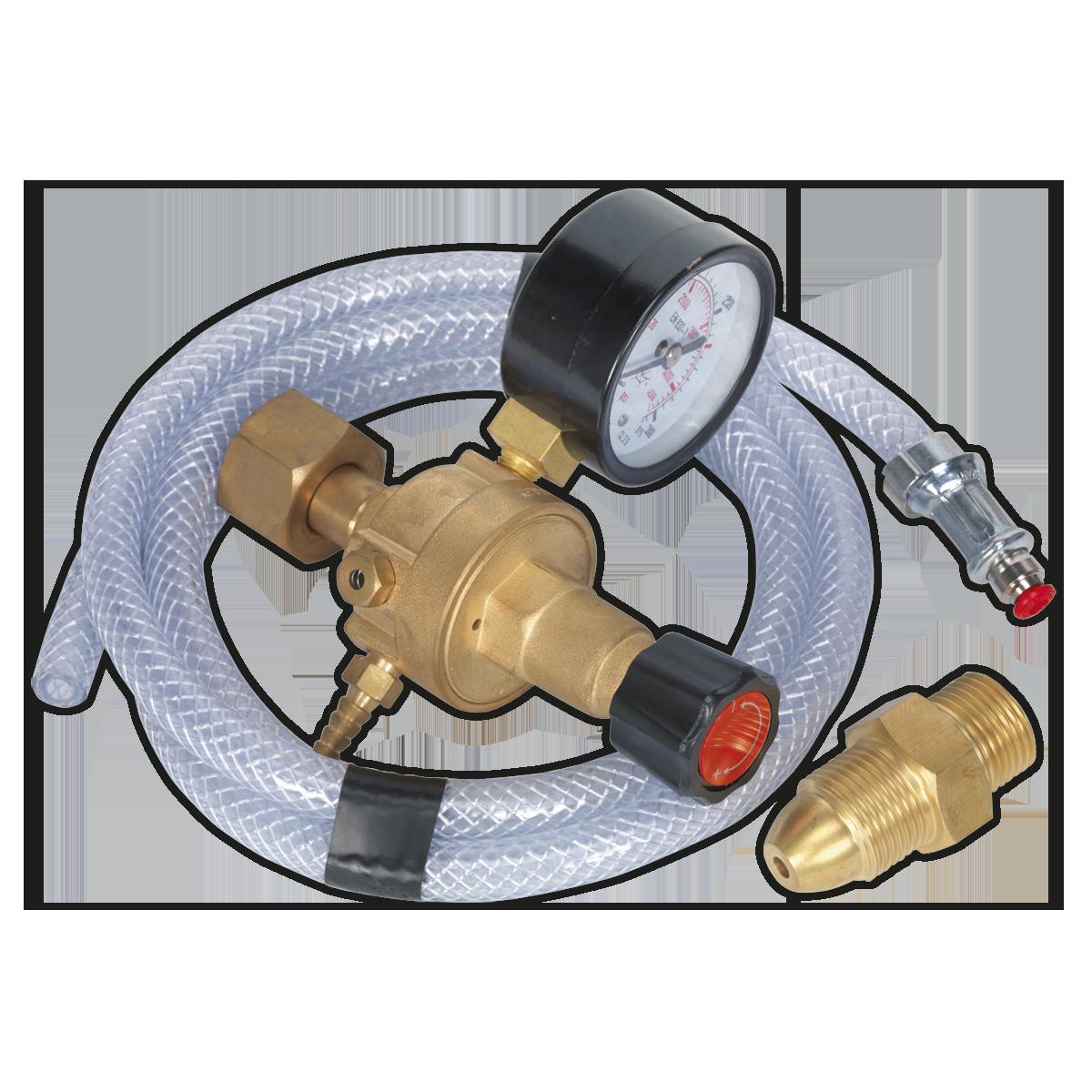 MIG Gas Regulator Kit 1 Gauge Regulator Industrial