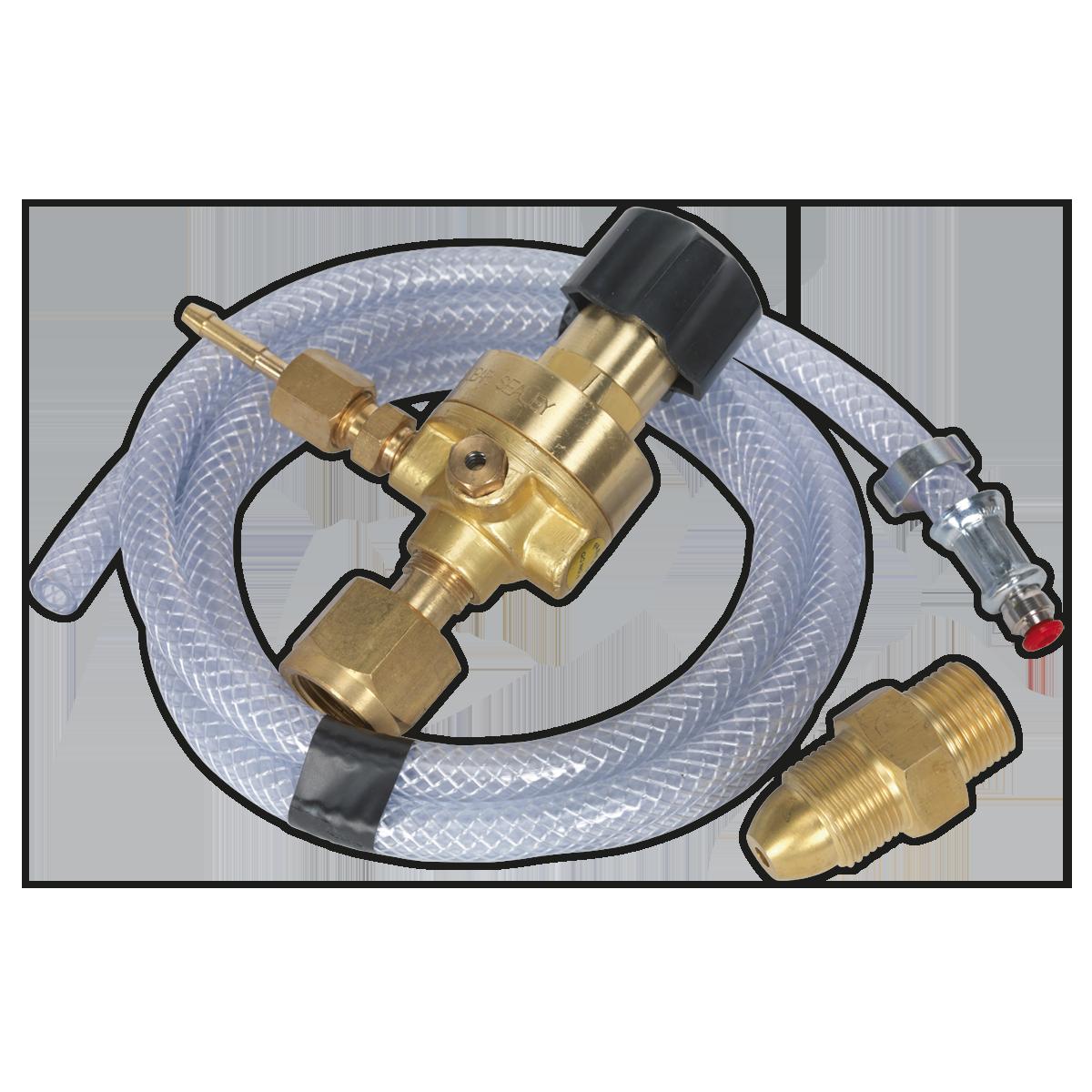 MIG Gas Regulator Kit No Gauge Regulator Industrial