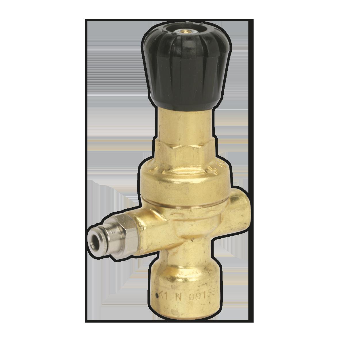 MIG Gas Regulator Disposable Cylinder No Gauge