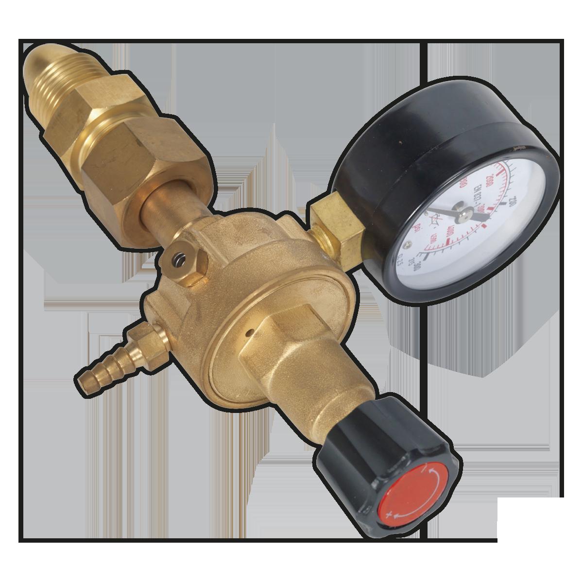 MIG Gas Regulator 1 Gauge Industrial