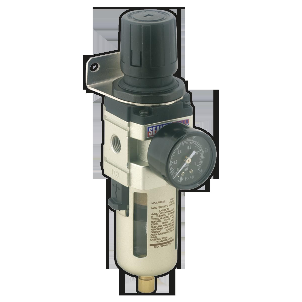 Air Filter/Regulator Max Airflow 70cfm