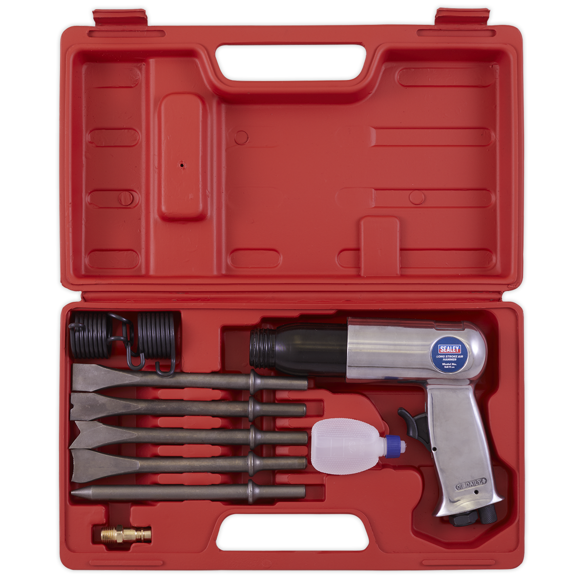 Air Hammer with Chisels Long Stroke