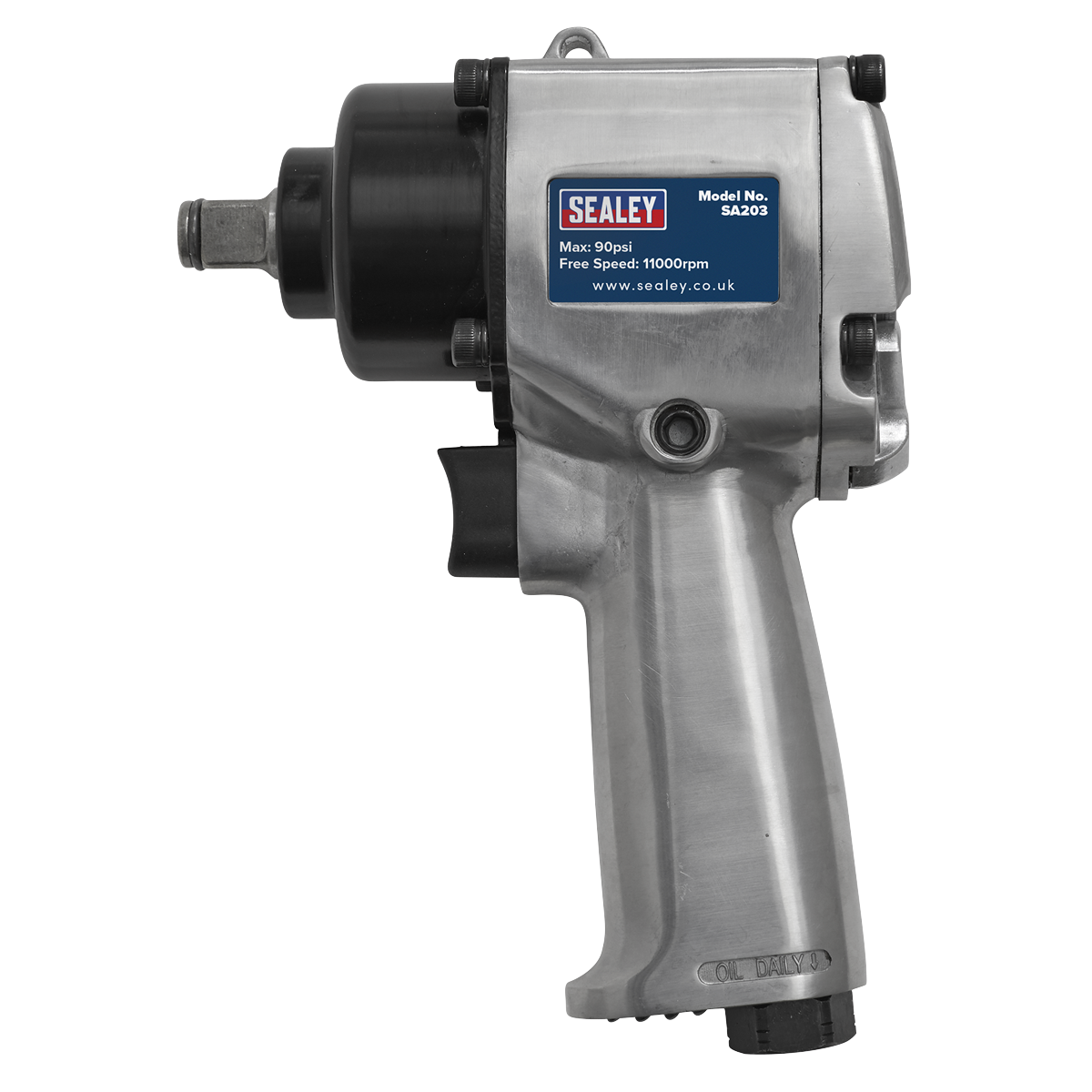 """Air Impact Wrench 1/2""""Sq Drive Compact - Twin Hammer"""
